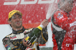 GT500 podium: second place Andre Couto