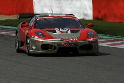#120 Michael Cullen Rosso Corsa Ferrari F430 GT3: Michael Cullen, Patrick Shovlin, Mark Patterson, Peter Ludwig
