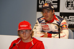 Press conference: Kimi Raikkonen and Sébastien Loeb