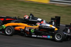 Cesar Ramos, Manor Motorsport Dallara F308 Mercedes, Sam Bird, Muecke Motorsport Dallara F308 Mercedes