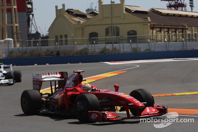Luca Badoer, Test Pilotu, Scuderia Ferrari