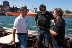 Pre-event press conference: Scott Pruett, Ron Fellows and Jacques Villeneuve