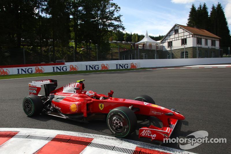 2009: Гран При Бельгии, Ferrari F60. Стартовал 6-м