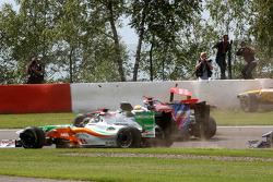 Адриан Сутиль, Force India F1 Team, Льюис Хэмилтон, McLaren Mercedes, Хайме Альгерсуари, Scuderia Toro Rosso