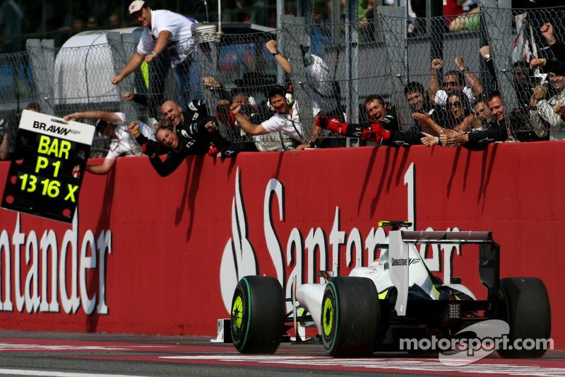 2009. Переможець: Рубенс Баррікелло, Brawn-Mercedes