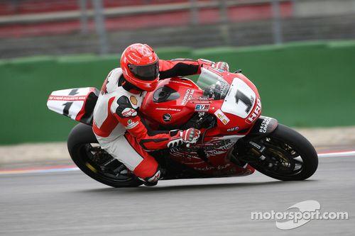 Test con la superbike per Michael Schumacher