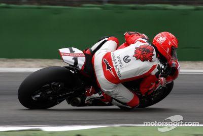 Prueba de Michael Schumacher en superbike