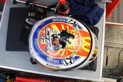 Helmet of Graham Rahal, Newman/Haas/Lanigan Racing