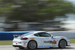 #21 Muehlner Motorsports America Porsche Cayman GT4: Dennis Trebing, Jeroen Bleekemolen