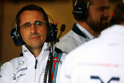 Dave Robson, Williams Race Engineer