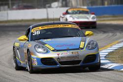 #36 Strategic Wealth Racing Porsche Cayman: Метт Дікен, Корі Льюіс