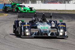 #88 Starworks Motorsport, ORECA FLM09: Sean Johnston, Maro Engel, Michael Lyons
