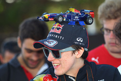 Ein Fan von Red Bull Racing