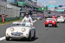 Rio Haryanto, Manor Racing en el desfile de pilotos