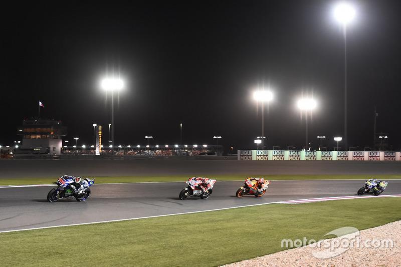 Нічна гонка в Катарі