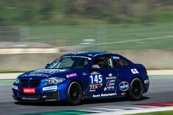 #145 Bonk Motorsport, BMW M235i Racing Cup: Axel Burghardt, Jürgen Meyer, Liesette Braams