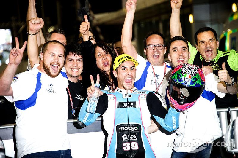 Secondo posto: Luis Salom, SAG Team, Kalex