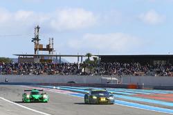 #30 Extreme Speed Motorsports, Ligier JS P2 - Nissan: Scott Sharp, Ed Brown, Johannes van Overbeek and #97 Aston Martin Racing Aston Martin Vantage GTE: Marco Sorensen, Jonathan Adam, Fernando Rees