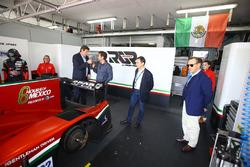 Gerard Neveu, WEC CEO ve Toni Calderon, RGR Sport direktörü, Lindsay Owen-Jones, FIA Endurance Komisyonu başkanı ve Pierre Fillon, ACO Başkanı
