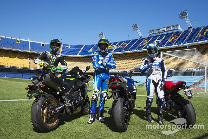 Pol Espargaró, Monster Yamaha Tech 3, Aleix Espargaró, Team Suzuki MotoGP, Yonny Hernández, Aspar Racing Team