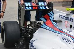 Задняя часть Williams FW38