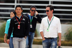 Rio Haryanto, Manor Racing with Piers Hunnisett, Driver Manager