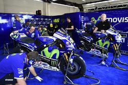 Área del equipo Yamaha