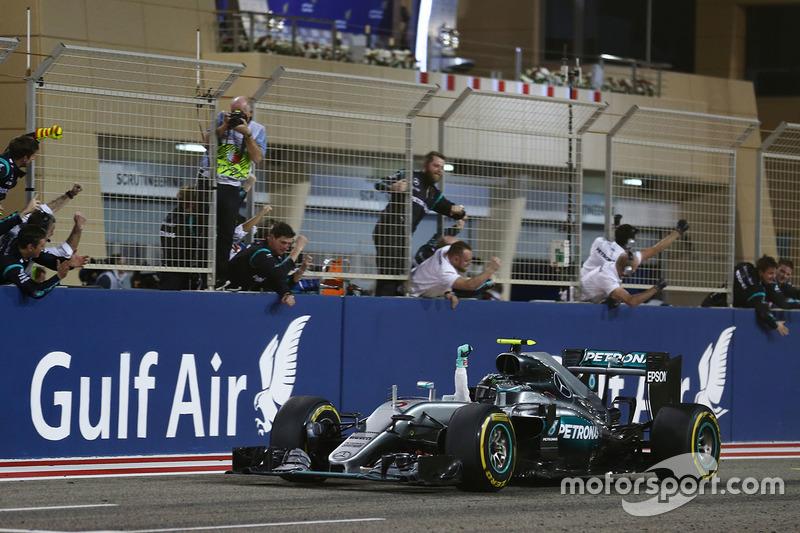Bahrain, Sakhir: Nico Rosberg (Mercedes)