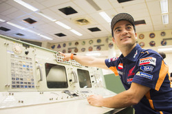 Dani Pedrosa, Repsol Honda Team during a visit to the NASA Johnson Space Center