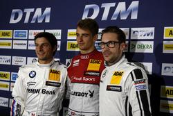 Press conference with Bruno Spengler, BMW Team MTEK; Nico Müller, Audi Sport Team Abt Sportsline; Maximilian Götz, Mercedes-AMG Team HWA