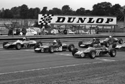Ayrton Senna, Rick Morris en Alfonso Toledano