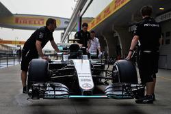 Mercedes AMG F1 W07 Hybrid de Lewis Hamilton