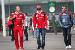 Kimi Räikkönen, Ferrari mit Mark Arnall, Personal Trainer
