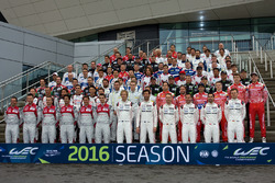 2016 WEC drivers group photo
