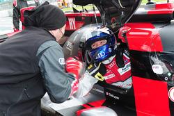 Il polesitter LMP1 #7 Audi Sport Team Joest Audi R18: Marcel Fässler