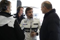 Fernando Alonso, McLaren con Ron Dennis, McLaren
