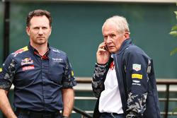 Christian Horner, Red Bull Racing Team Principal en Dr Helmut Marko, Red Bull Racing Team Consultant