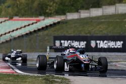 George Russell, HitechGP, Dallara F312 – Mercedes-Benz; Pedro Piquet, Van Amersfoort Racing, Dallara F312 - Mercedes-Benz