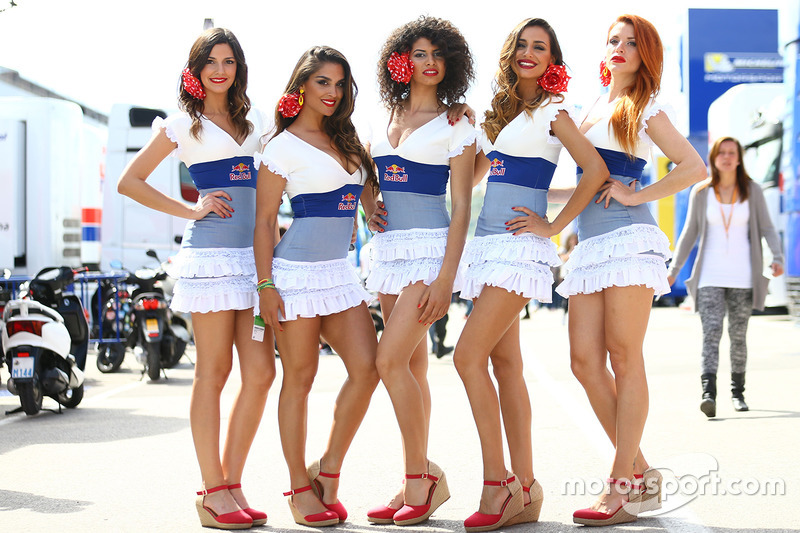 Lovely Red Bull girls