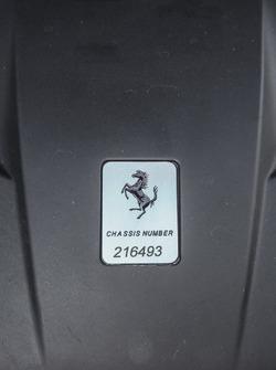 Ferrari California T HS, Chassisnummer