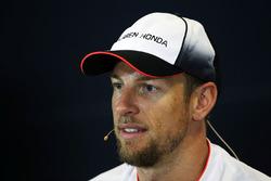 Дженсон Баттон, McLaren на пресс-конференции
