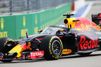 Daniel Ricciardo, Red Bull Racing RB12 con Aero Screen