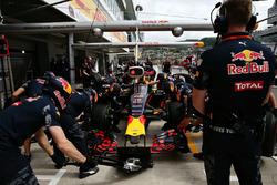 Даніель Ріккардо, Red Bull Racing RB12 та aeroscreen в боксах