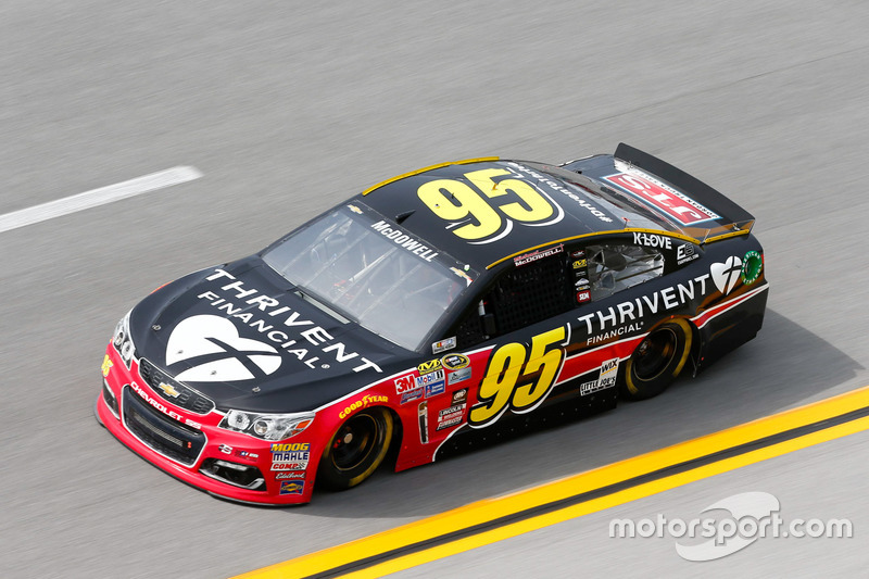 17. Michael McDowell, Circle Sport Leavine Family Racing, Chevrolet