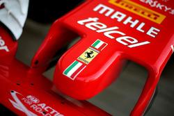 Ferrari SF16-H, dettaglio del naso
