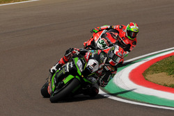Jonathan Rea, Kawasaki Racing Team e Davide Giugliano, Aruba.it Racing - Ducati Team