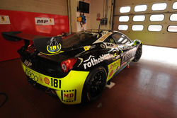 #181 Ineco - MP Racing, Ferrari 458: Erich Prinoth