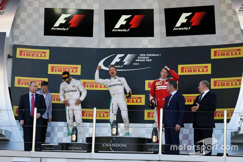 Rusia: Rosberg está imparable