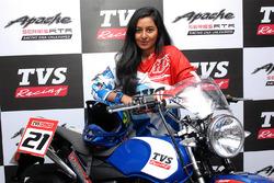 pengumuman pembalap TVS Shreya Iyer