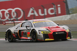 #21 Audi Team Hitotsuyama, Audi R8 LMS: Richard Lyon, Tomonobu Fujii